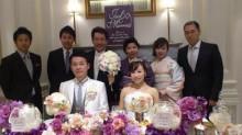◆新卒採用一期生の結婚式