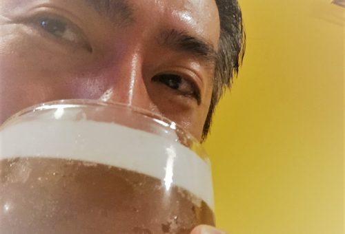 夏は「生ビールできゅ~~~~っと!!」