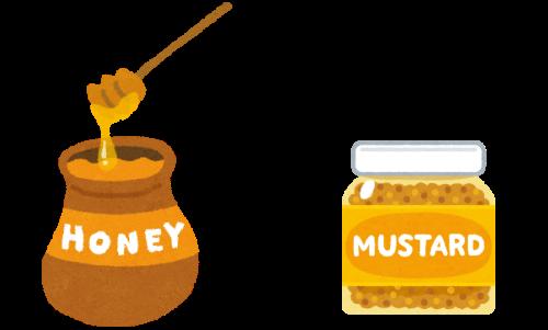 蜂蜜の風味がポイント