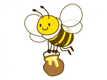 蜂蜜の日の逆は蜜蜂の日なんです!