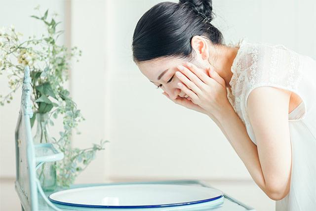 洗顔とスキンケア